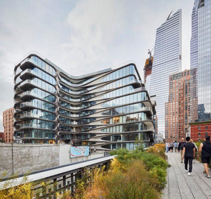 בניין מגורים ראשון במנהטן לזאהה חדיד אדריכלים