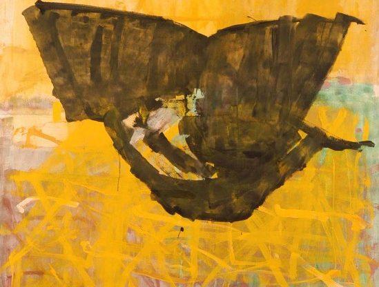 ללא כותרת, אקריליק על קנבס, 1994