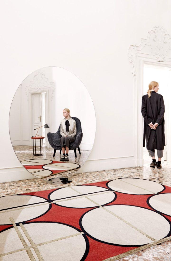 מתוך קולקציית השטיחים בעיצוב של פטרישיה אורקיולה