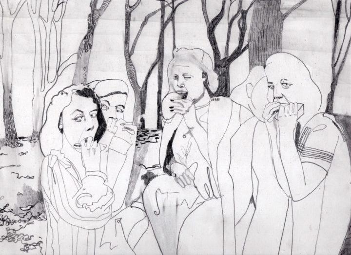 נימוסי שולחן - מיה בלוך ״טורפות״, 2008