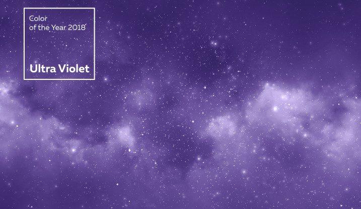 צבע השנה לשנת 2018 Ultra Violet