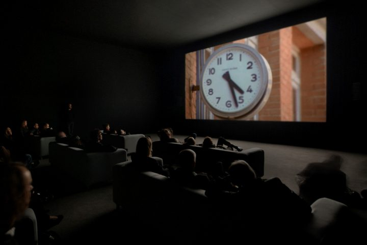 From the video installation The clock 2010