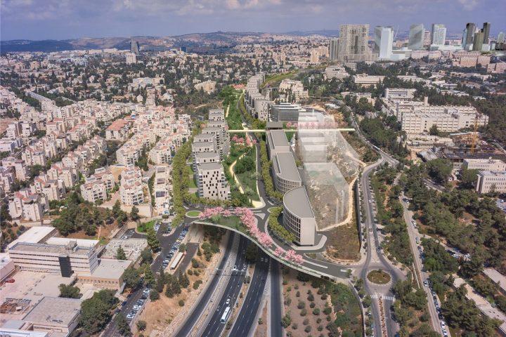 קירוי כביש בגין, ירושלים