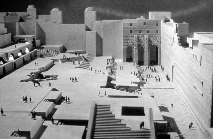 הכותל המערבי, הצעה של אדריכל משה ספדי, 1974