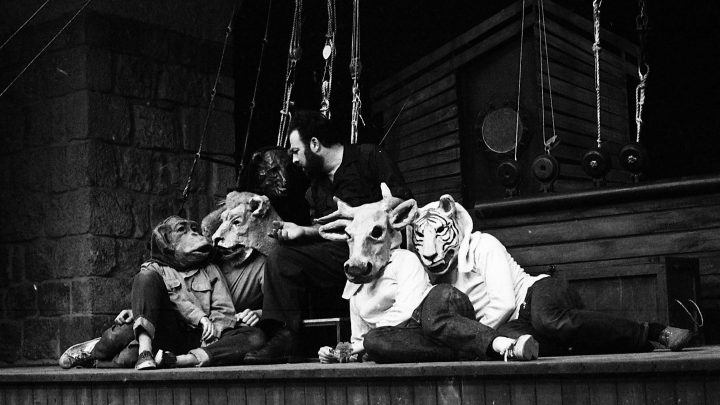 ארטון גולדרייך, במה ותלבושות להצגה 'נח', תיאטרון החאן, 1968