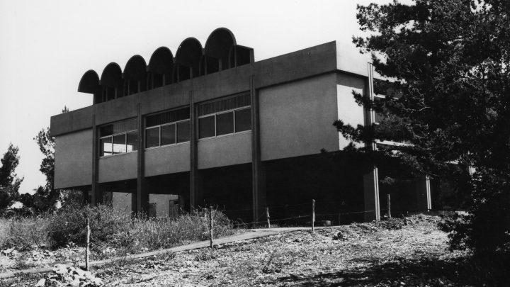 ארטור גולדרייך ותמר דה שליט, חדר אוכל מעלה החמישה, 1969