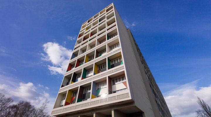 יחידת המגורים בתכנון קורבוזיה, ברלין