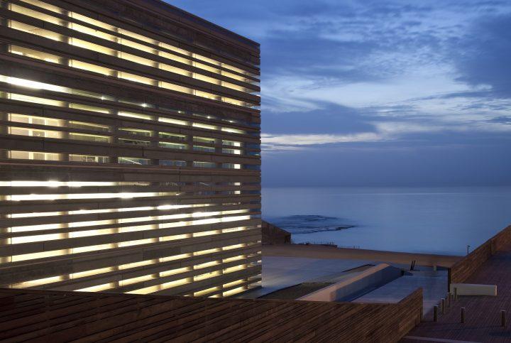 מרכז פרס לשלום, בשיתוף אדריכל יואב מסר, תל אביב