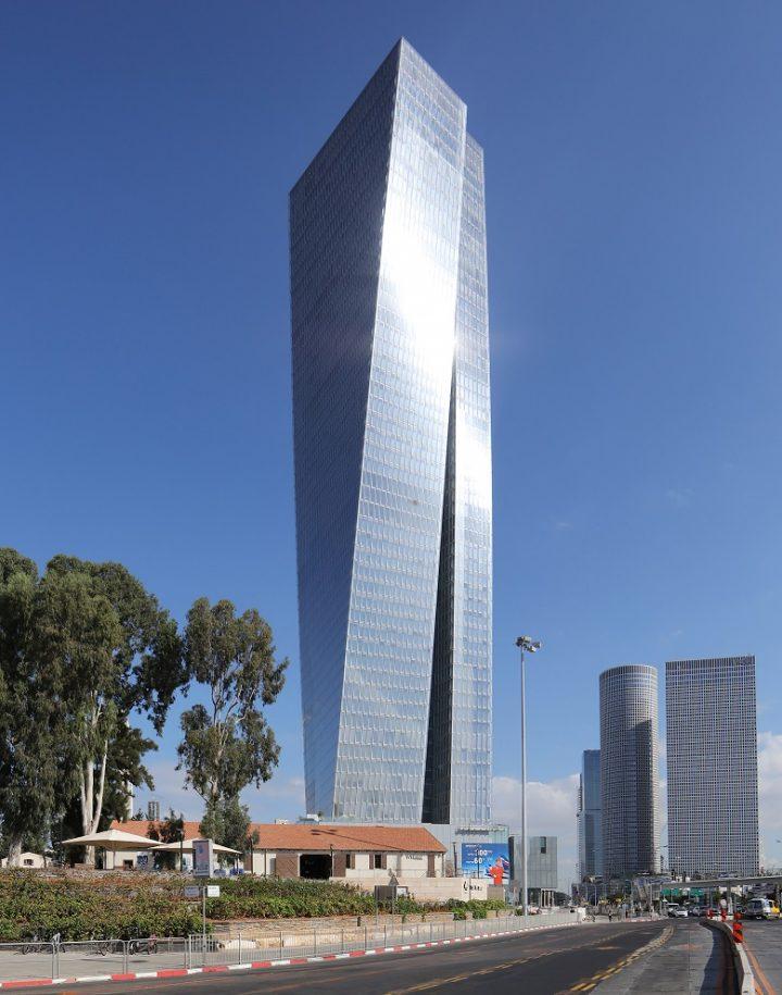 שרונה עזריאלי, תכנון משה צור אדריכלים ובוני ערים. בשיתוף אדריכל דוד עזריאלי