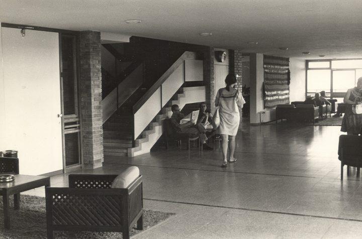 תמר דה שליט, עיצוב פנים בית החלמה יערות הכרמל, 1968