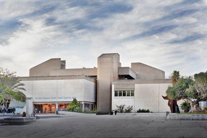 מוזיאון תל אביב, אדריכל דן איתן בשותפות עם אדריכל יצחק ישר