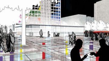 המחלקה לארכיטקטורה הילה רחימה, כיכר רבין