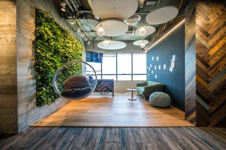 משרדי סי איי טכנולוגיות, חללים מפצים, סתר אדריכלים