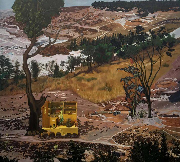 נורית דוד, נוף מס 9, 2001