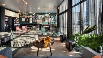 פנאי ועסקים, אדריכל רני זיס, עיצוב פנים דנה אוברזון אדריכלים