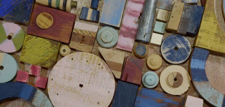 עבודות אמנות משאריות עץ, ביאזי