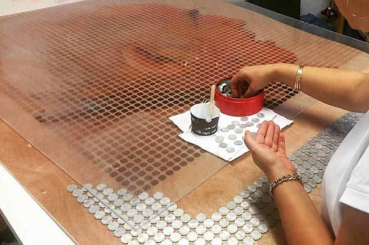 פורטרט עשי מטבעות שנמצאו בעליית הגג