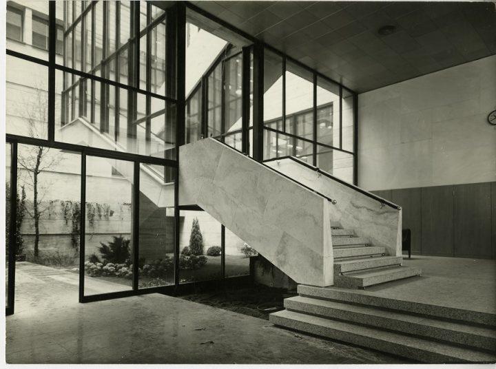 קסטיליוני האדריכל, משרד המסחר, התעשייה והחקלאות במילנו, 1952 1958