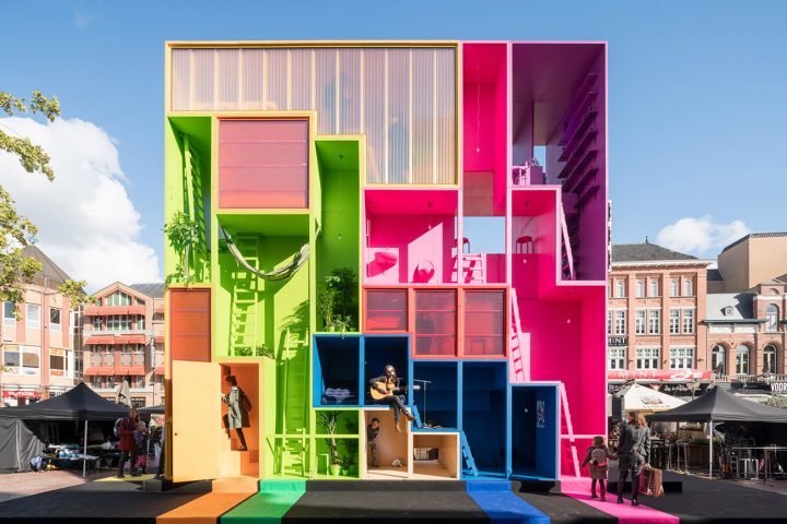 איינדהובן 2017, מיצב של משרד אדריכלים MVRDV