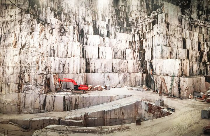 Carrara Marble Quarries, Carrara, Italy, by Edward Burtynsky