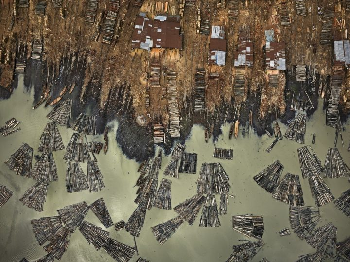 Saw Mills, Lagos, Nigeria, by Edward Burtynsky