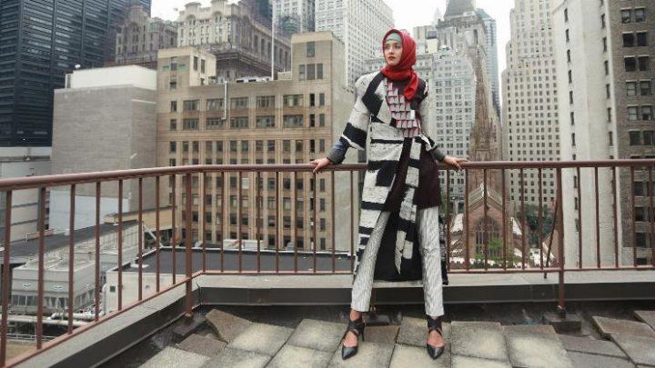מערכת לבוש של דאין פלנגי לשבוע העיצוב בניו יורק
