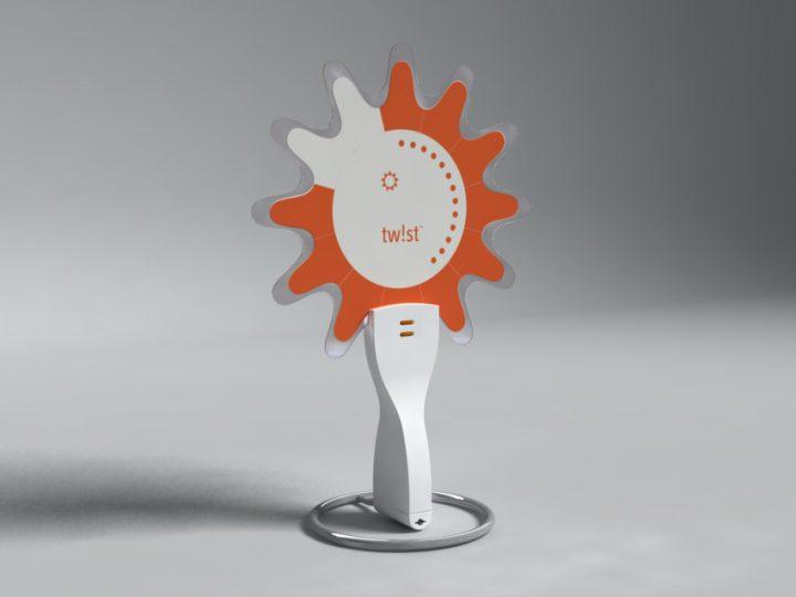 מתוך סדרת שעוני קונספט דיגיטליים המבוססים על מסך גמיש עבור Citala