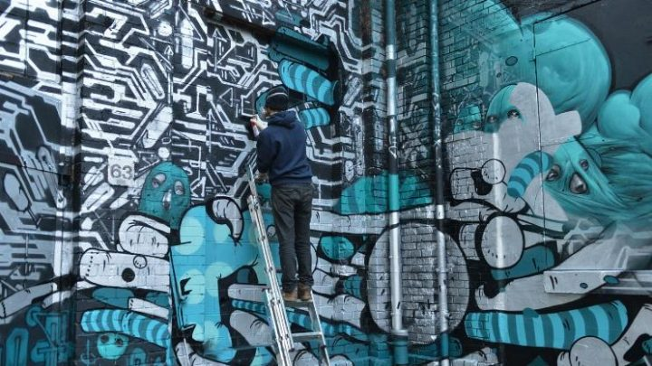 קולקטיב Da Mental Vaporz בפרויקט בברלין