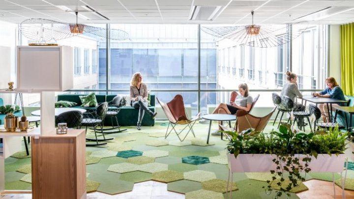 משרדי Anticimex בעיצוב פיטר סאחלין אדריכלים