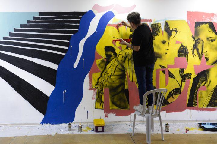 מציירים על הקירות