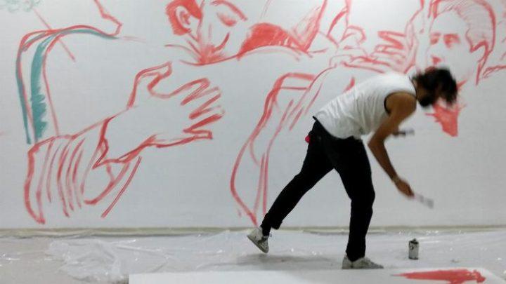גרפיטי בתערוכה