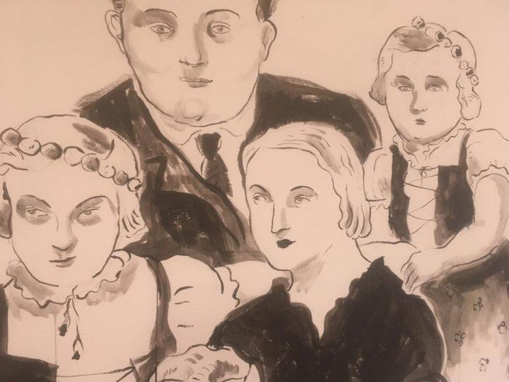 איציק רנרט, מתוך תערוכת 'מפגש משפחתי'