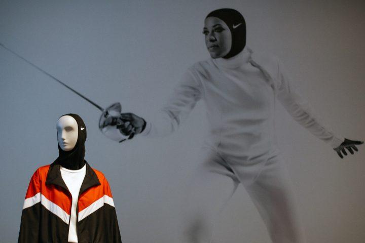 מתוך התערוכה, פתרונות לביגוד ספורט