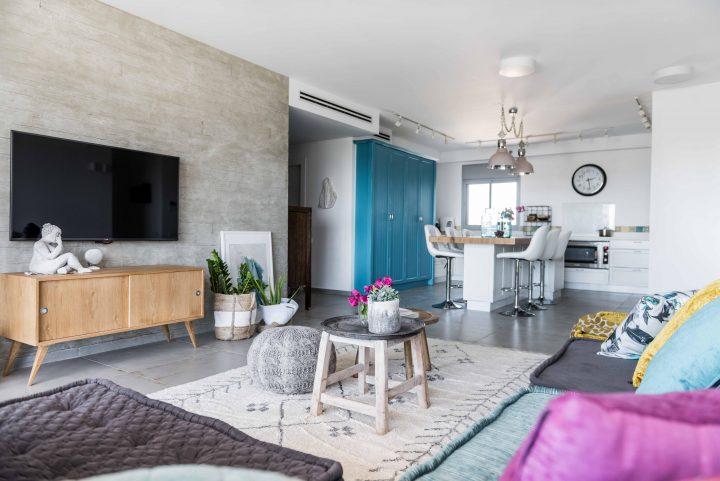 שינויי דיירים בדירת קבלן ברמת השרון, מרטין קסל אדריכלים