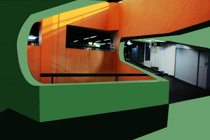 זיהום אור, כניסה לקומה 2 דרך קירו צדדיים
