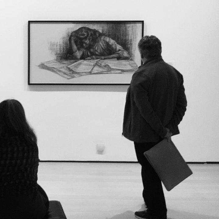 חלל התערוכה צ'ארלס וויט: רטרוספקטיבה