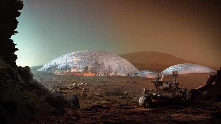 מגורים על מאדים