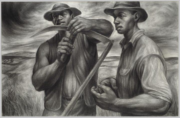 Harvesttalk, מתוך התערוכה של צ'ארלס וויט