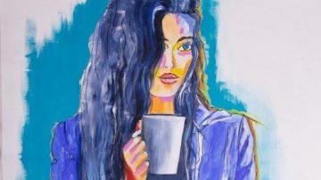 #firstcoffee איורי אופנה: מימי זיו