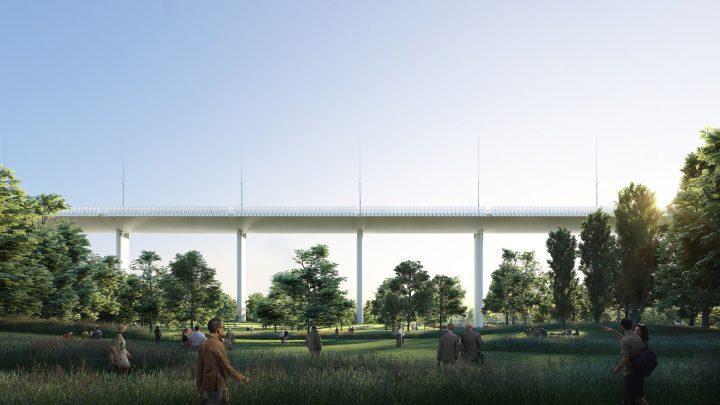 הגשר החדש בתכנונו של פיאנו