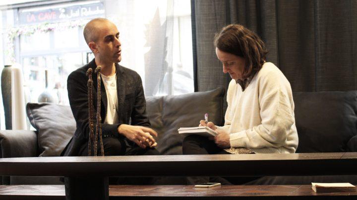 רפאל נבות עם אודית לורן בלקין