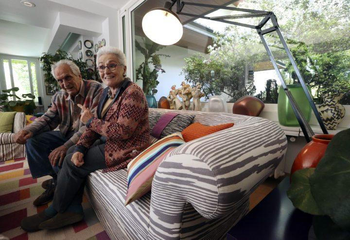רוזיטה ואוטביו מיסוני, 2012