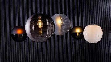 גופי תאורה עשויים זכוכית למותג PULPO