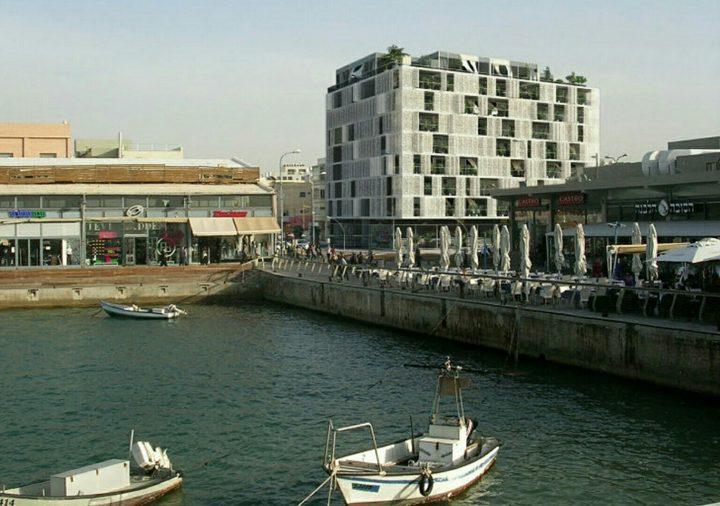 Port TLV מבט מהים
