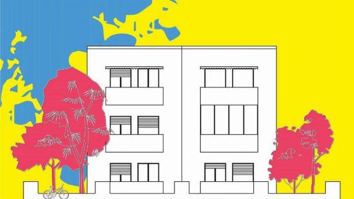 מדברים אמנות בעיר הלבנה, תערוכה קבוצתית באחד העם 100