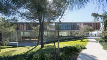 מכון ואן ליר, חיוטין אדריכלים