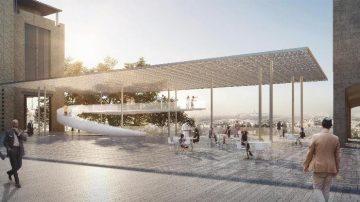 מקום ראשון, תכנון ופיתוח כיכר ספרא