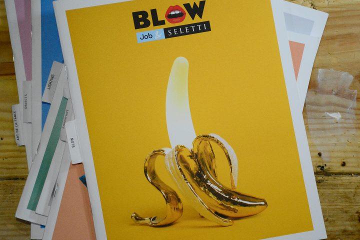 שפתיים בשרניות ובננה