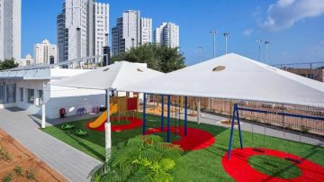 גן ילדים ראשון בעולם מאופס אנרגיה