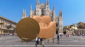 הכי אקטואלי. כורסה המדגישה את נושא האלימות נגד נשים תוצב במרכז מילאנו